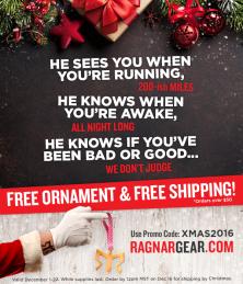 Subject Line: Santa's got something up his sleeve...